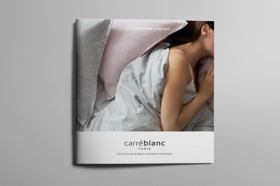 CARRÉ BLANC – CATALOGUE AUTOMNE HIVER 2017