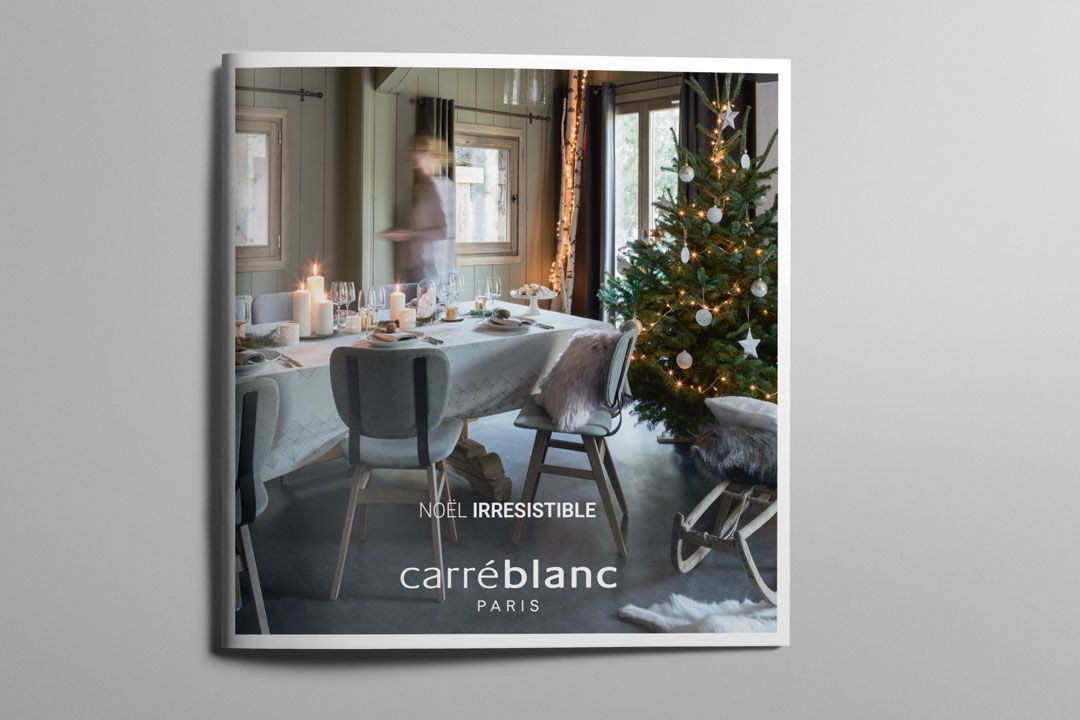 CARRÉ BLANC – CATALOGUE NOËL 2017